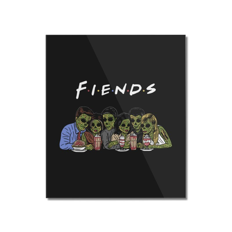 Fiends Home Mounted Acrylic Print by Ibyes