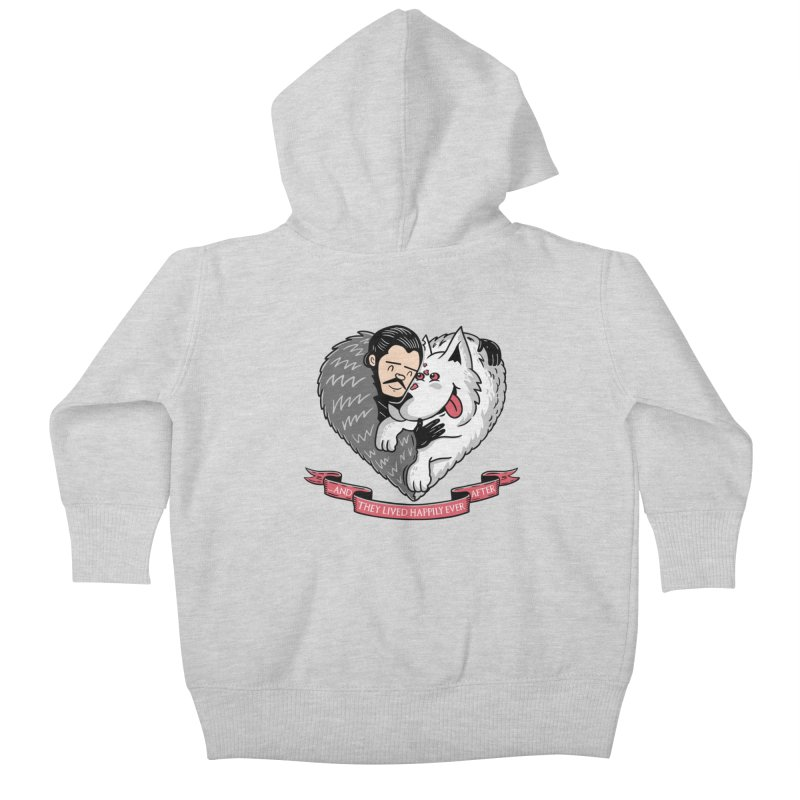 GOT Each Other Kids Baby Zip-Up Hoody by Ibyes