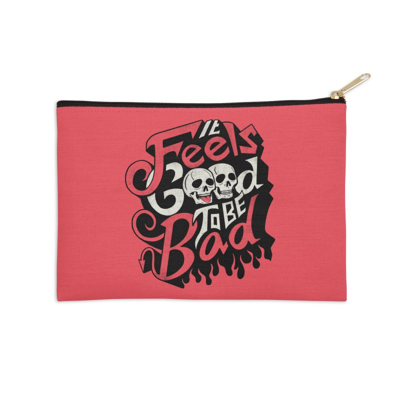 Good to be Bad Accessories Zip Pouch by Ibyes