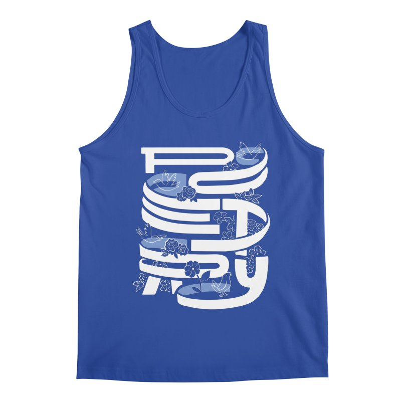 Poetry in Motion Men's Tank by Ibyes