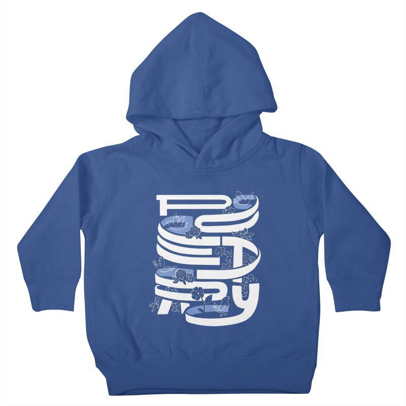 Poetry in Motion Kids Toddler Pullover Hoody by Ibyes
