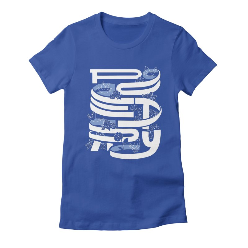 Poetry in Motion Women's T-Shirt by Ibyes