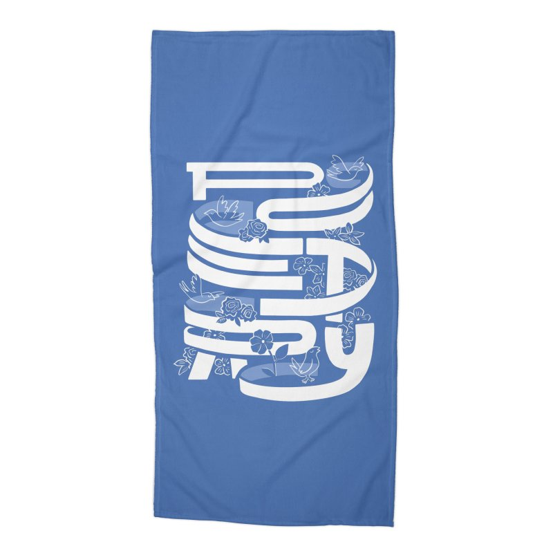 Poetry in Motion Accessories Beach Towel by Ibyes