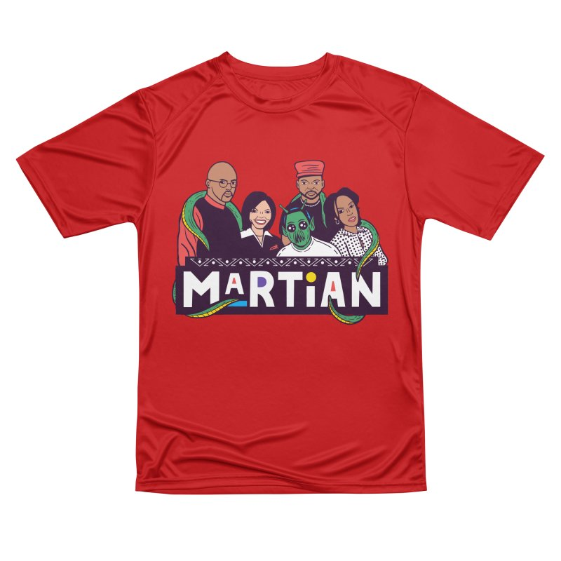 Martian Men's T-Shirt by Ibyes