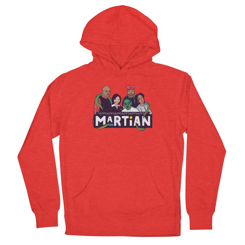 Martian Women's Pullover Hoody by Ibyes