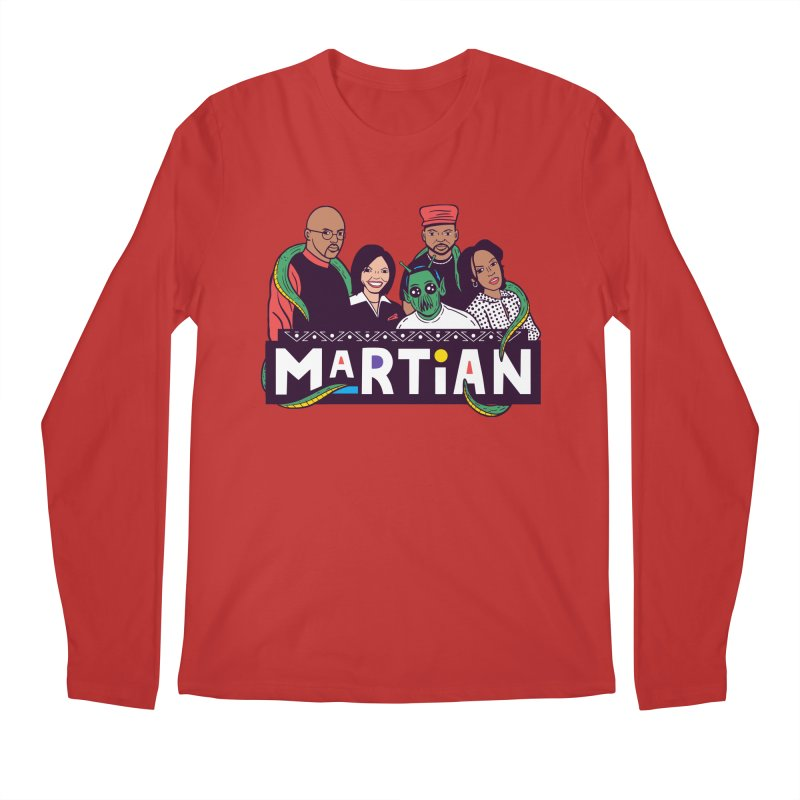 Martian Men's Longsleeve T-Shirt by Ibyes