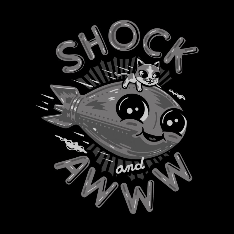 Shock and Awww Men's Tank by Ibyes