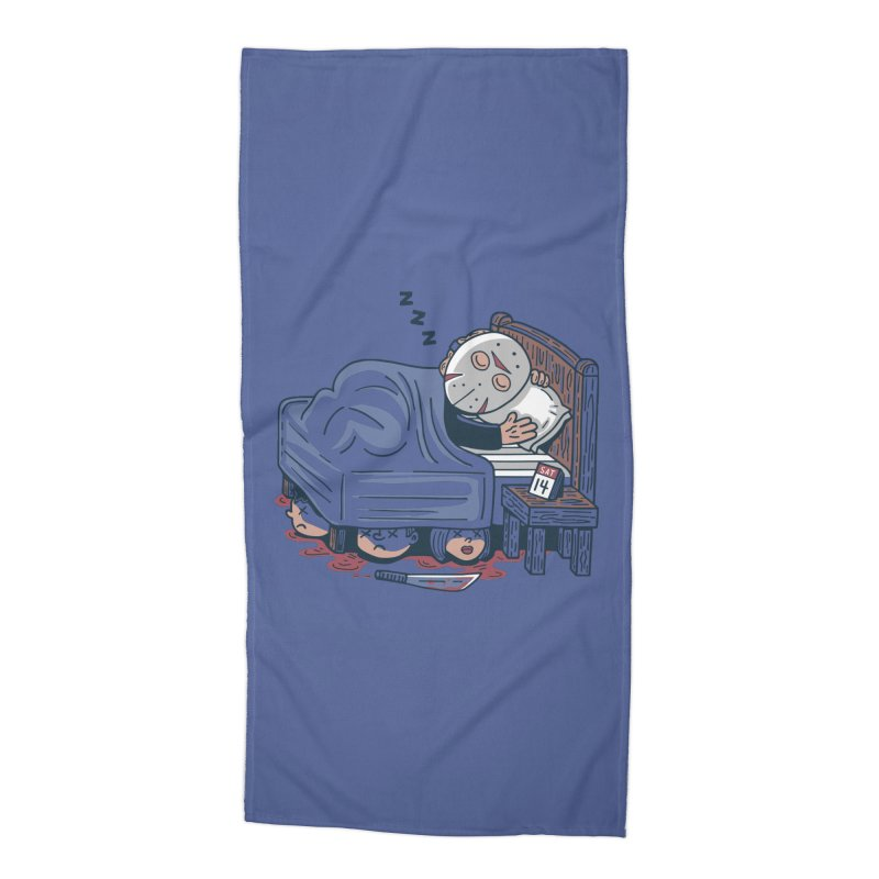 Lazy Saturday Accessories Beach Towel by Ibyes