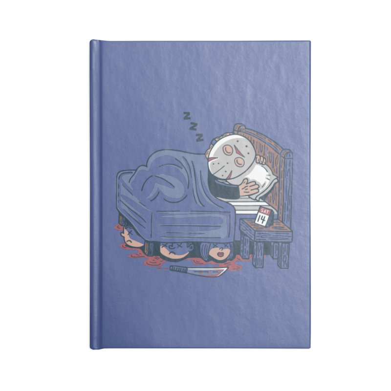 Lazy Saturday Accessories Notebook by Ibyes