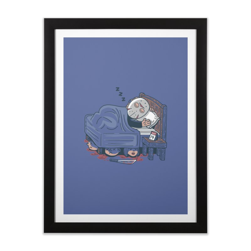Lazy Saturday Home Framed Fine Art Print by Ibyes