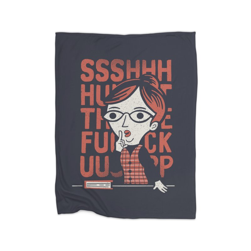 STFU Home Blanket by Ibyes