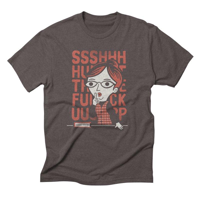 STFU Men's Triblend T-Shirt by Ibyes