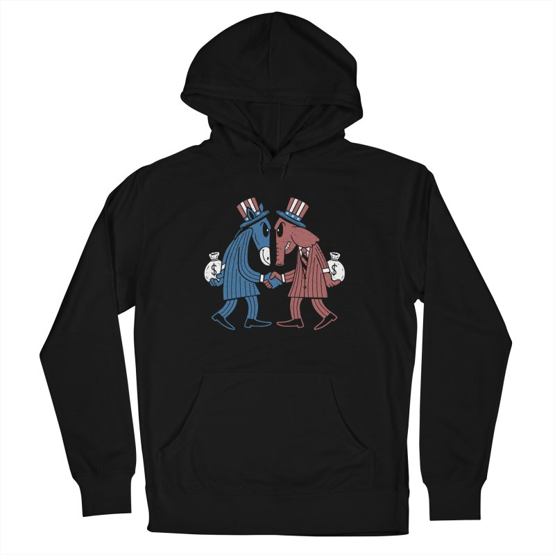 Lie VS Lie Men's Pullover Hoody by Ibyes