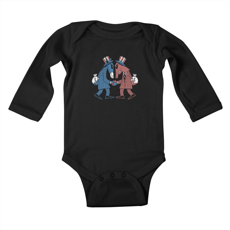 Lie VS Lie Kids Baby Longsleeve Bodysuit by Ibyes