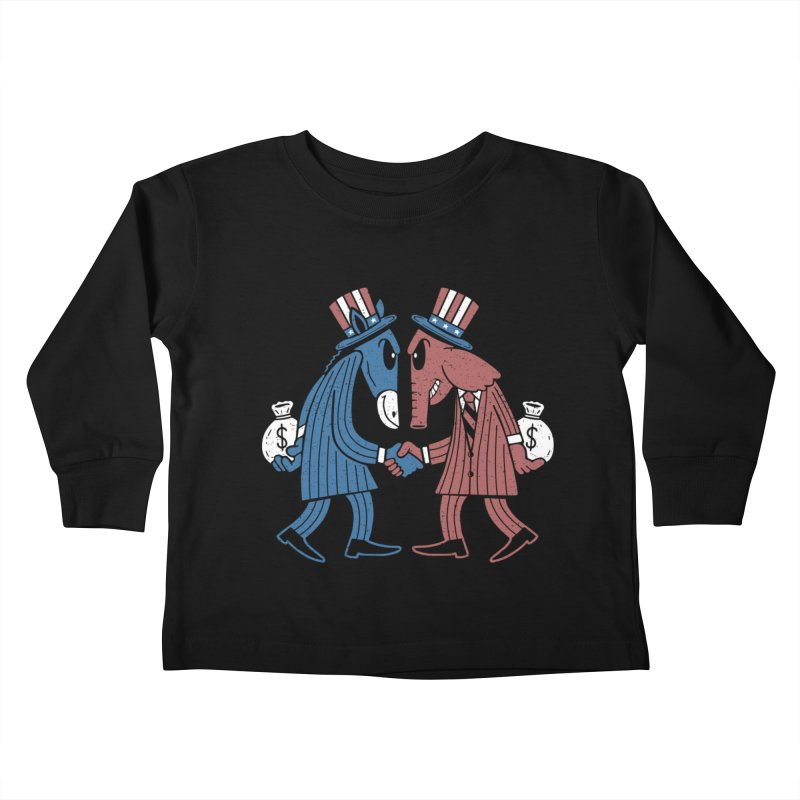 Lie VS Lie Kids Toddler Longsleeve T-Shirt by Ibyes