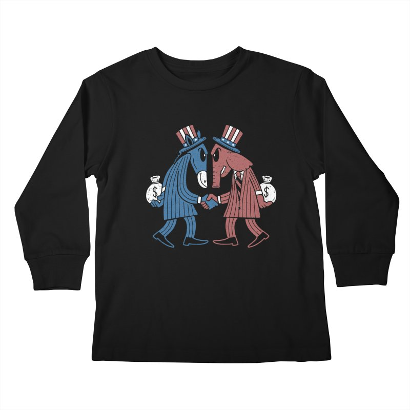 Lie VS Lie Kids Longsleeve T-Shirt by Ibyes