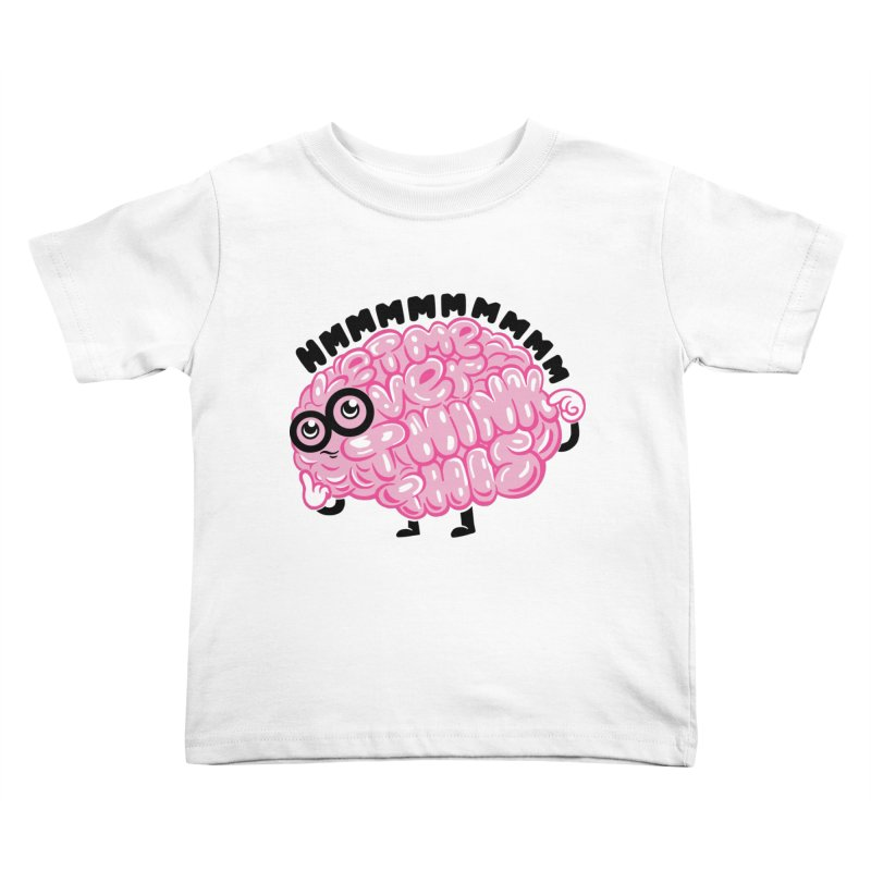 Overthinker Kids Toddler T-Shirt by Ibyes