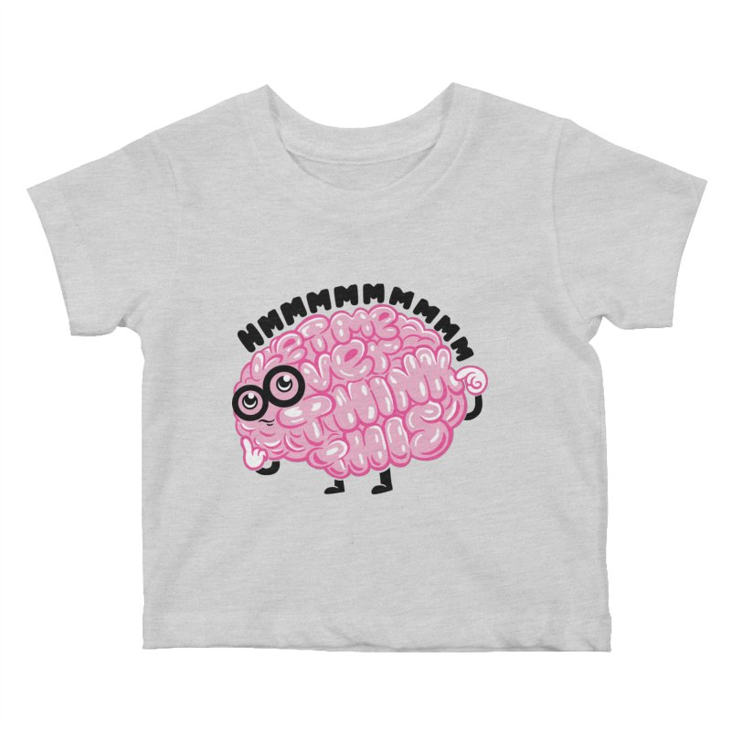 Overthinker Kids Baby T-Shirt by Ibyes