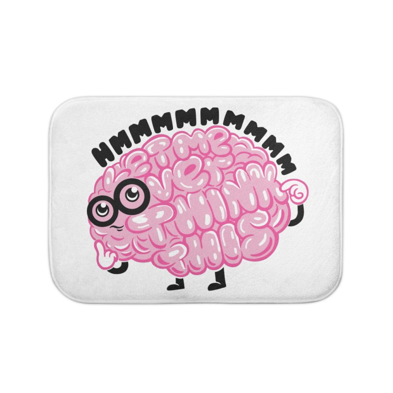 Overthinker Home Bath Mat by Ibyes