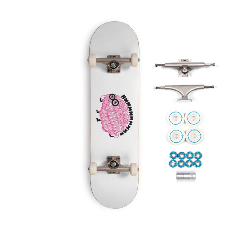 Overthinker Accessories Skateboard by Ibyes