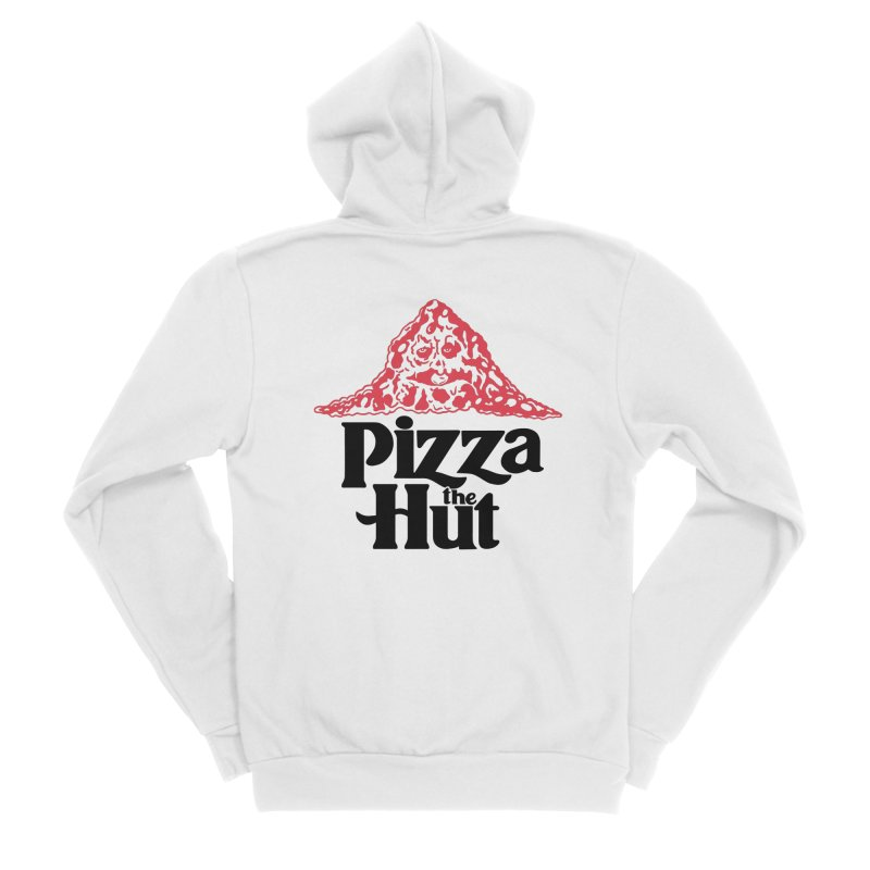 Pizza the Hut Men's Zip-Up Hoody by Ibyes
