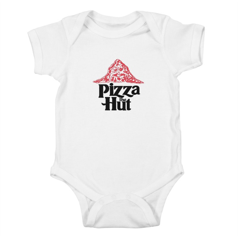 Pizza the Hut Kids Baby Bodysuit by Ibyes