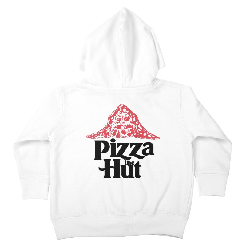 Pizza the Hut Kids Toddler Zip-Up Hoody by Ibyes
