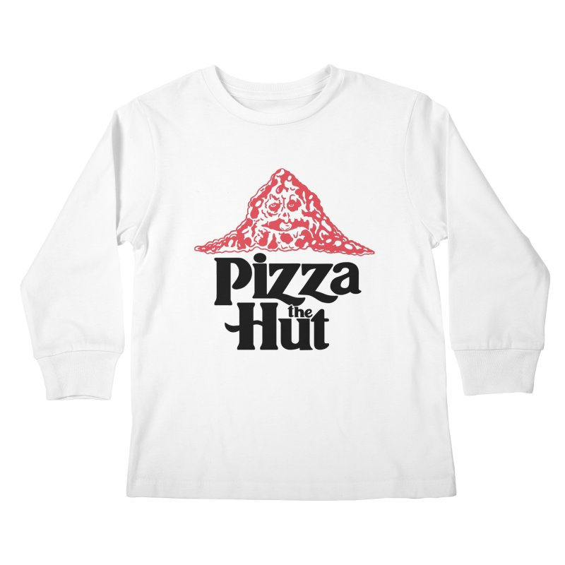 Pizza the Hut Kids Longsleeve T-Shirt by Ibyes