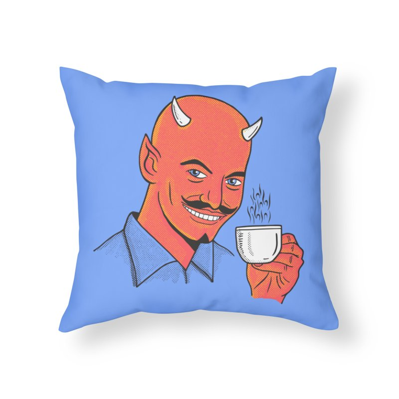 Espressoul Home Throw Pillow by Ibyes