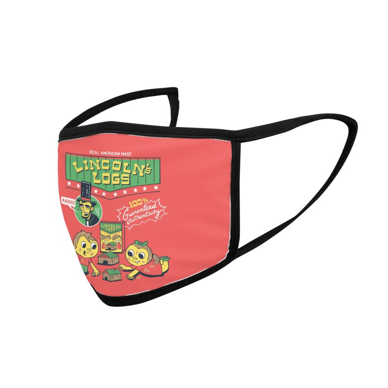 Lincoln's Logs Accessories Face Mask by Ibyes