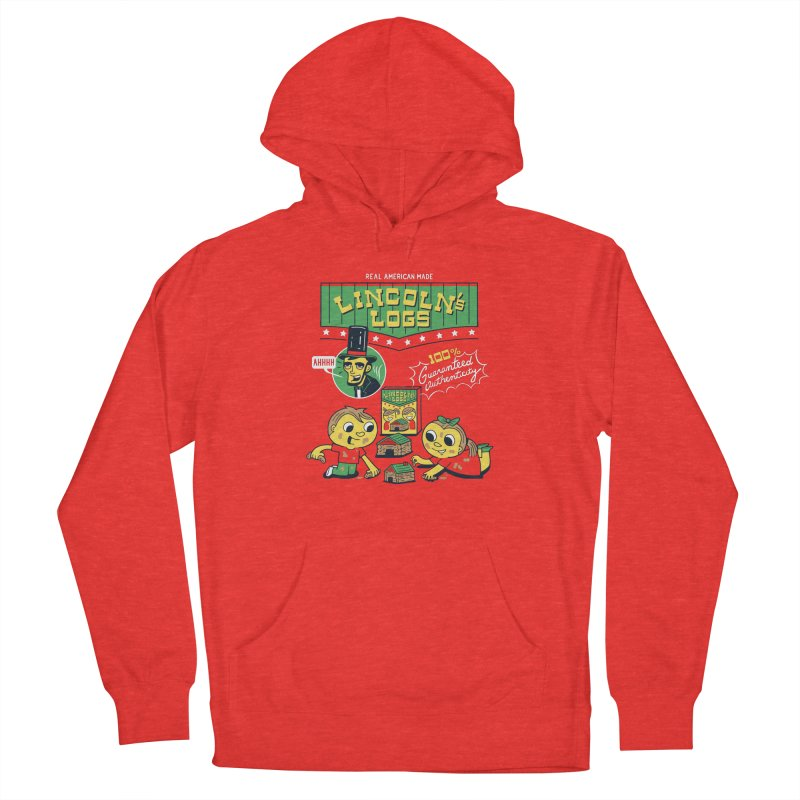 Lincoln's Logs Men's Pullover Hoody by Ibyes