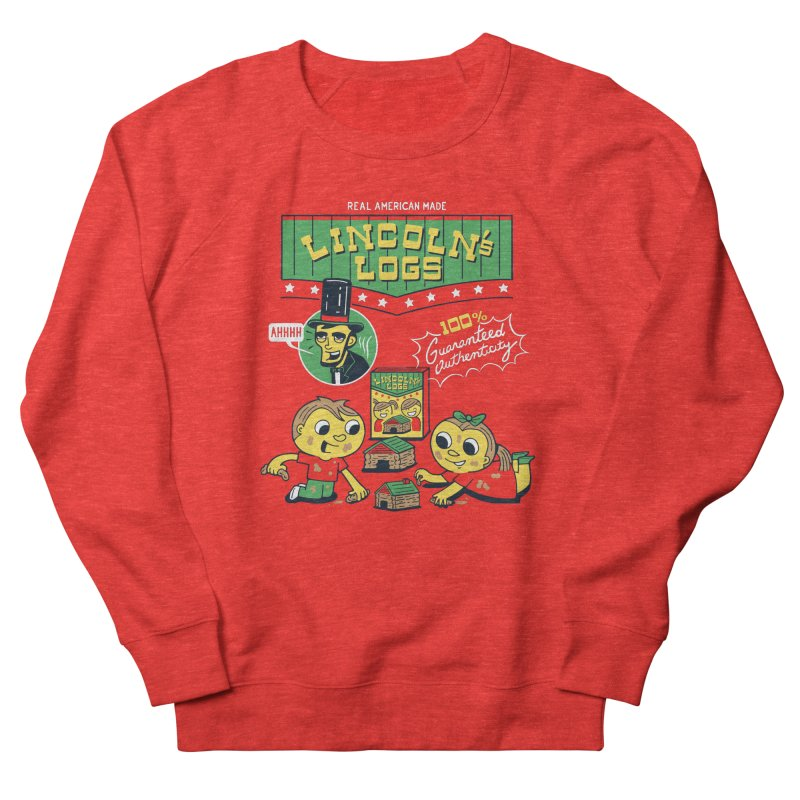 Lincoln's Logs Men's Sweatshirt by Ibyes