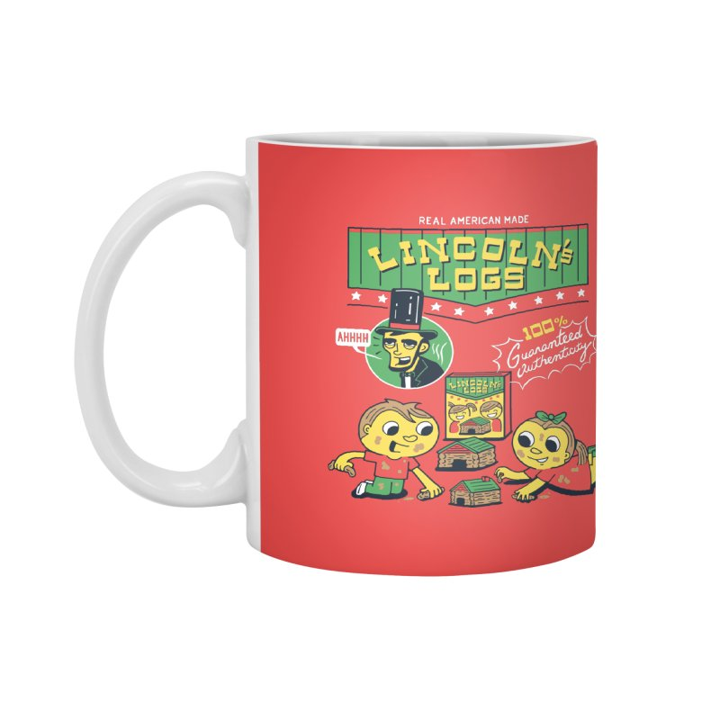 Lincoln's Logs Accessories Mug by Ibyes