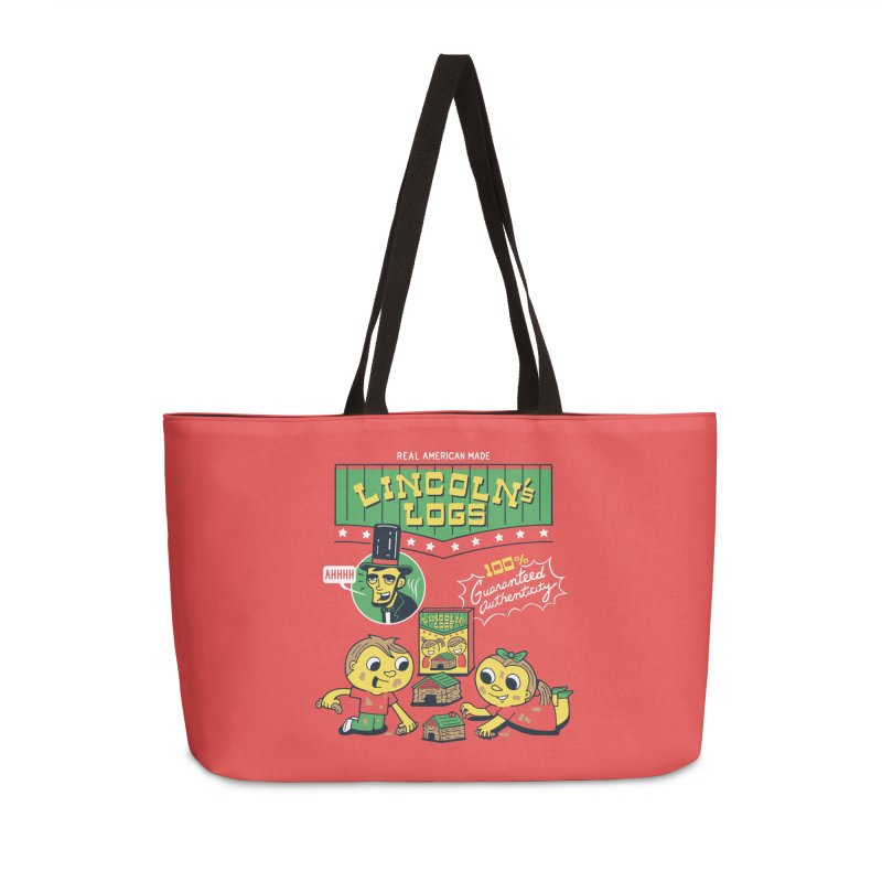 Lincoln's Logs Accessories Bag by Ibyes