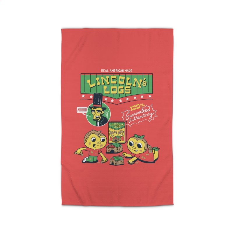 Lincoln's Logs Home Rug by Ibyes