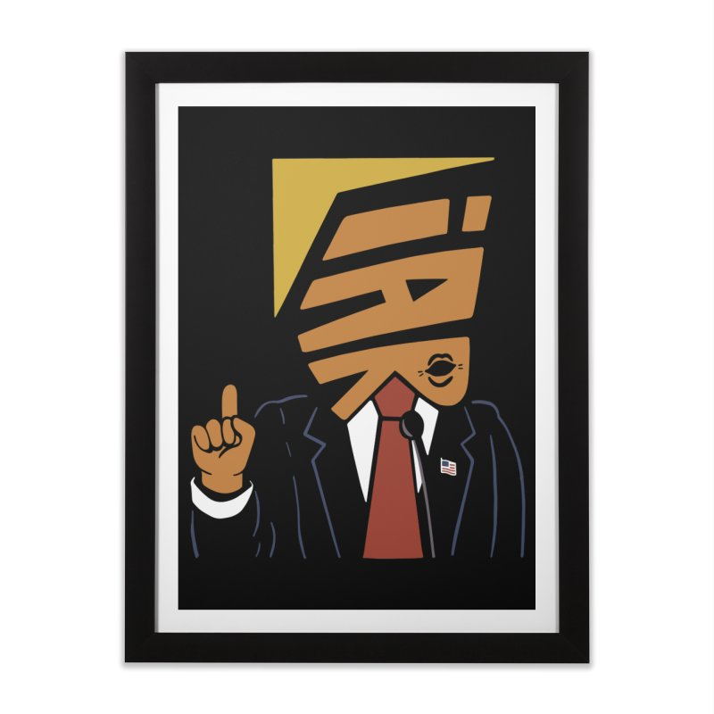 Liar Home Framed Fine Art Print by Ibyes