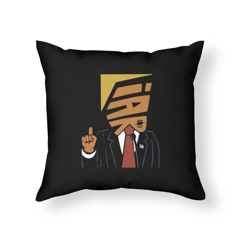 Liar Home Throw Pillow by Ibyes
