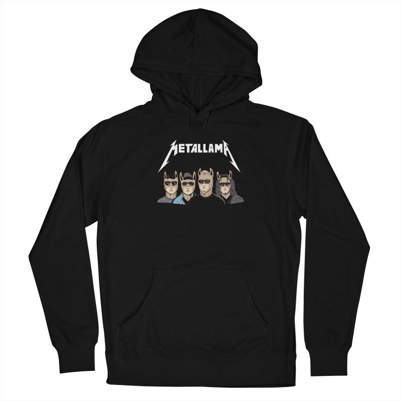 Metallama Men's Pullover Hoody by Ibyes