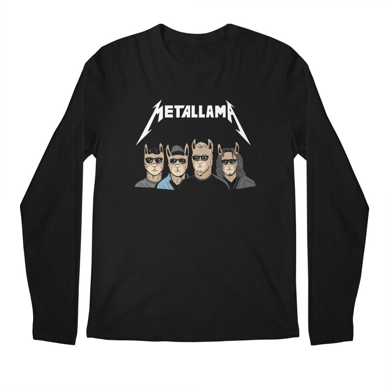 Metallama Men's Longsleeve T-Shirt by Ibyes