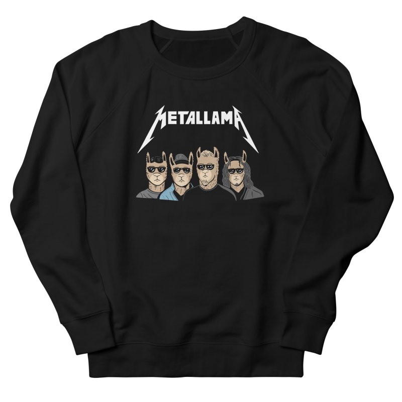 Metallama Women's Sweatshirt by Ibyes