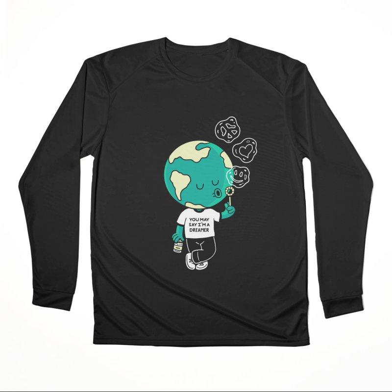 Dreamer Women's Longsleeve T-Shirt by Ibyes