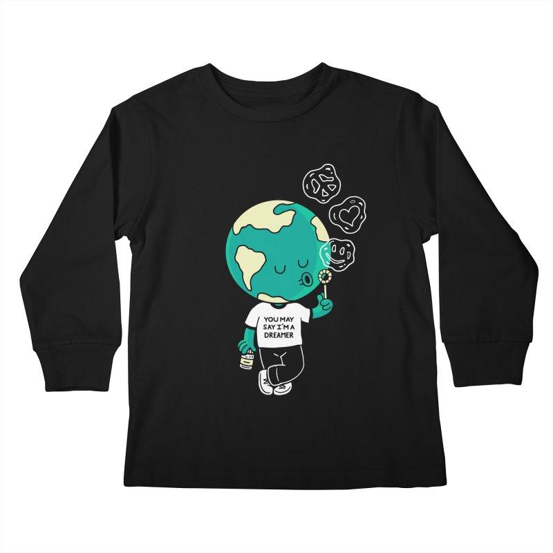 Dreamer Kids Longsleeve T-Shirt by Ibyes