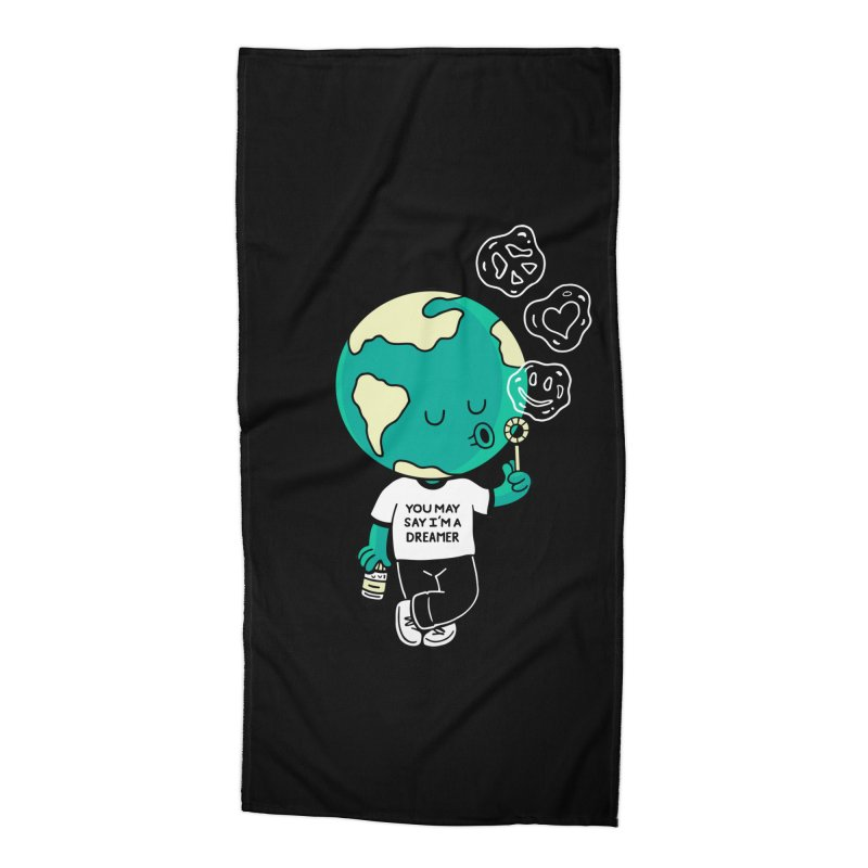 Dreamer Accessories Beach Towel by Ibyes
