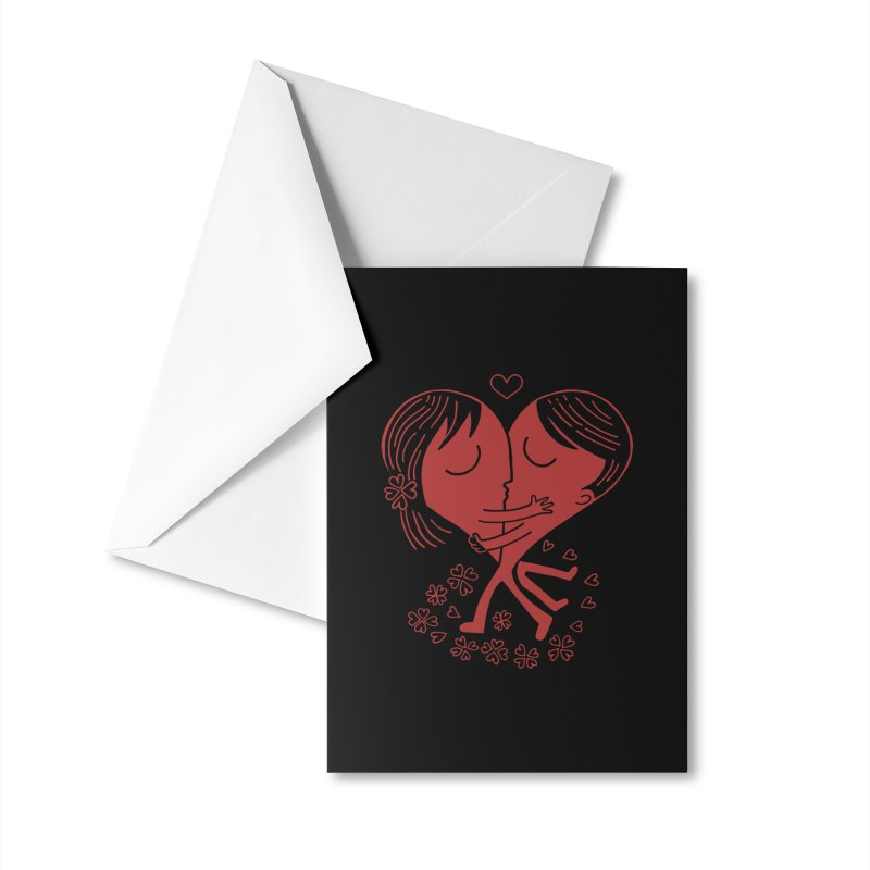 Half a Heart Accessories Greeting Card by Ibyes