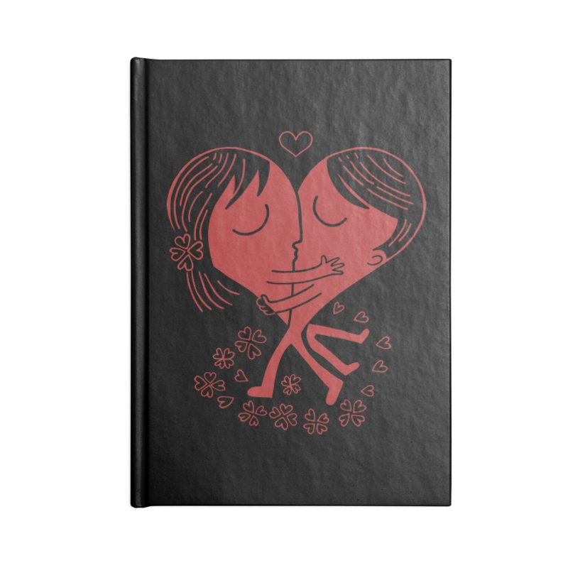 Half a Heart Accessories Notebook by Ibyes