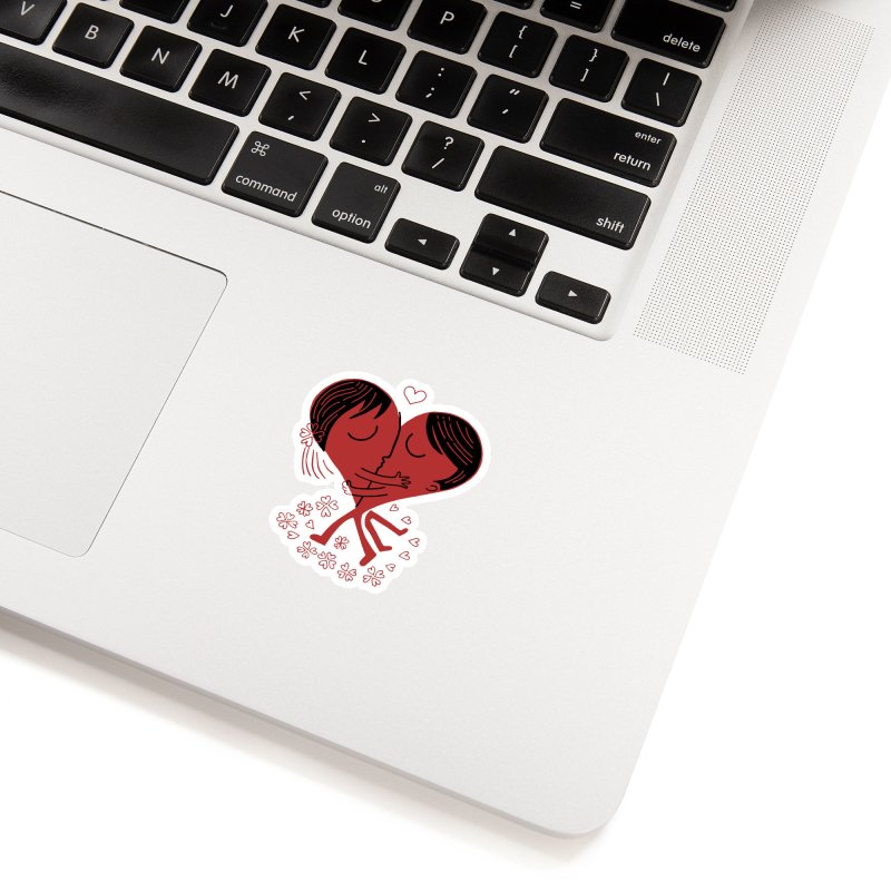 Half a Heart Accessories Sticker by Ibyes