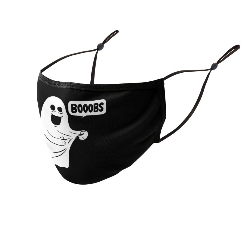 Booobs Accessories Face Mask by Ibyes