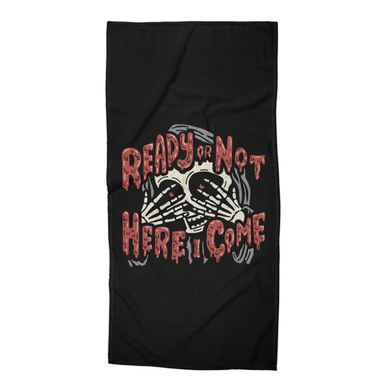 The Grim Seeker Accessories Beach Towel by Ibyes