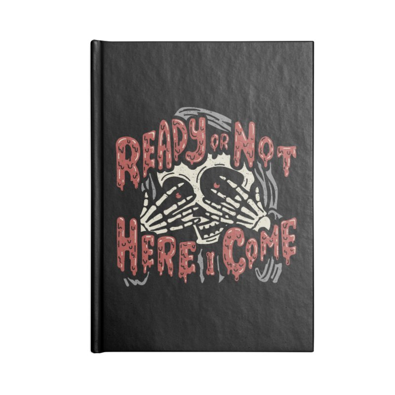 The Grim Seeker Accessories Notebook by Ibyes