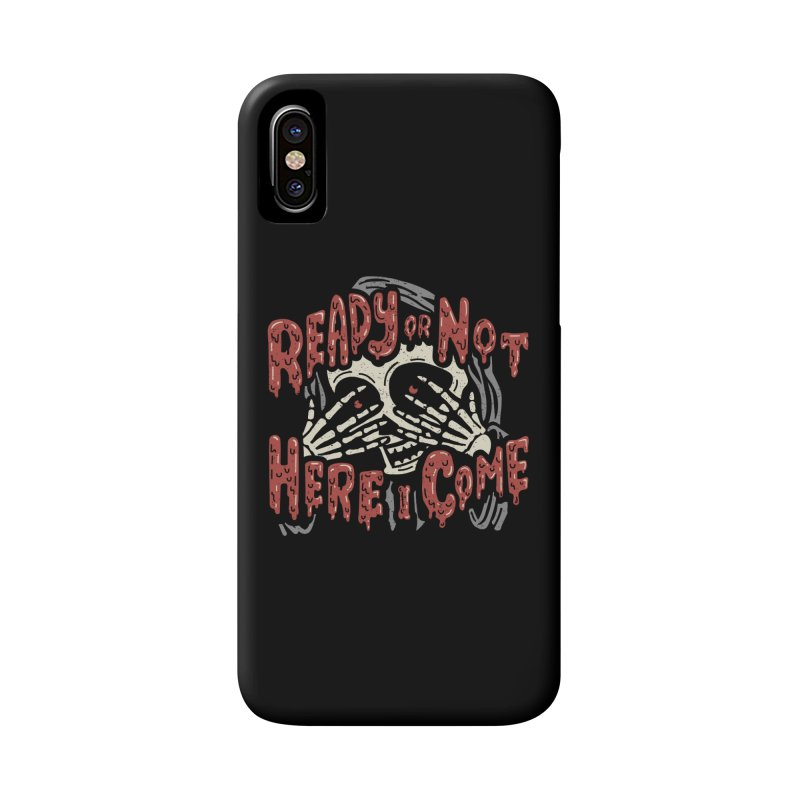 The Grim Seeker Accessories Phone Case by Ibyes
